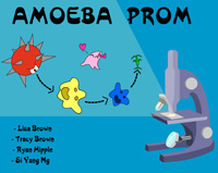 Amoeba Prom Title Screen
